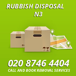 Finchley rubbish disposal N3