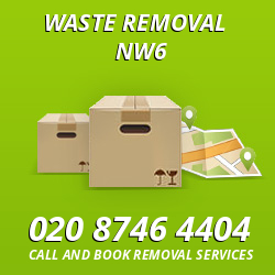 West Hampstead waste removal NW6