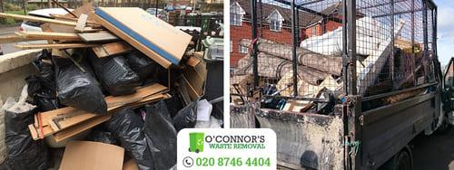 E14 junk removal Docklands