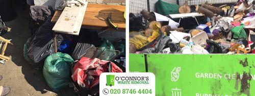 W4 junk removal Ravenscourt Park