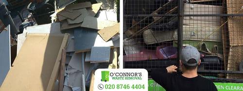 W1 junk removal Soho