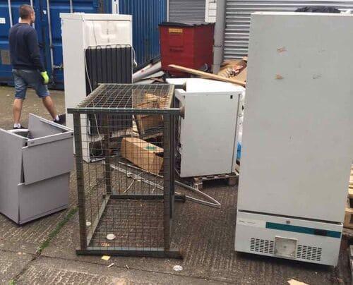 E14 waste disposal Canary Wharf