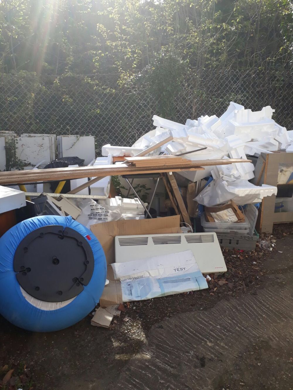 W1 waste disposal Westminster
